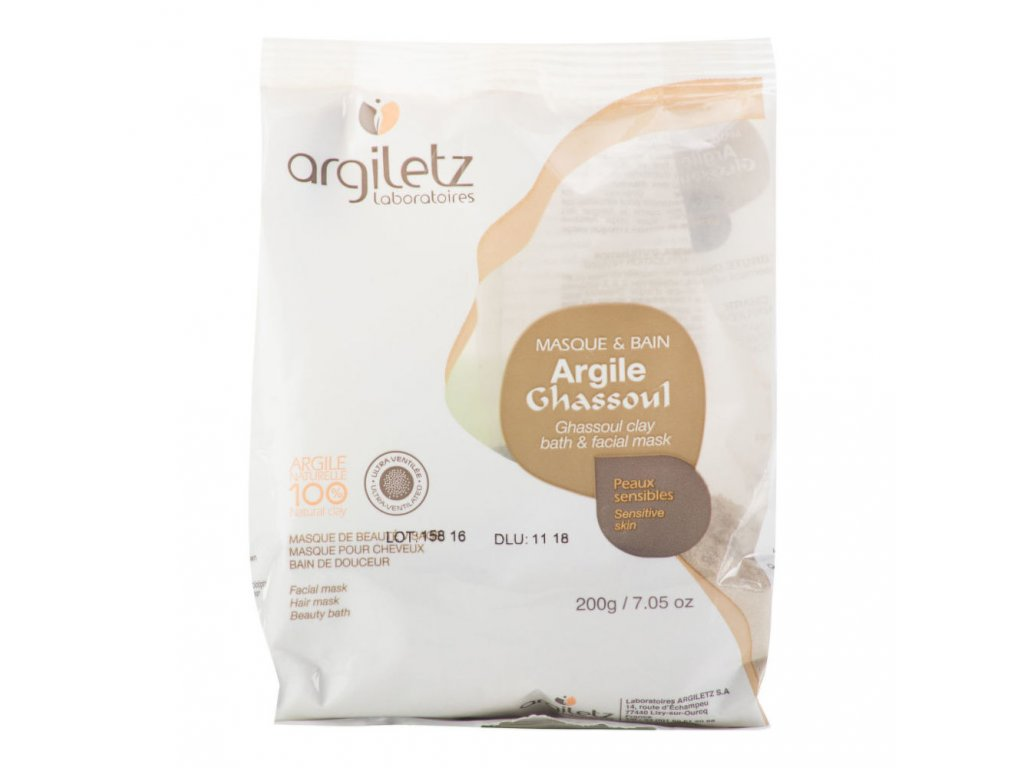 Argiletz Jíl ghassoul ultra ventilovaný pro citlivou pleť 200 g