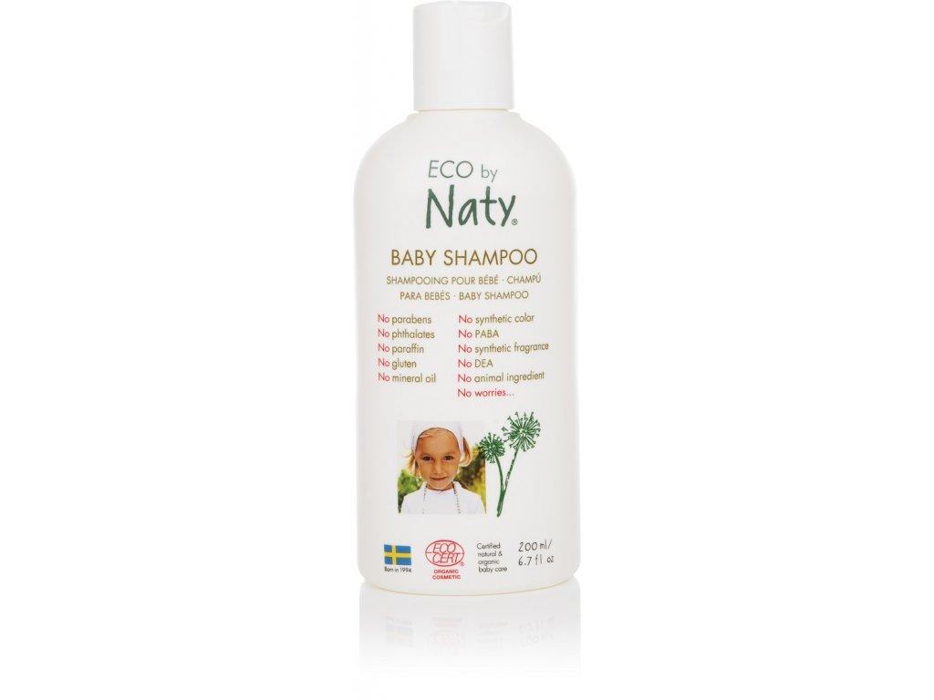 naty shampoo dětský 200ml