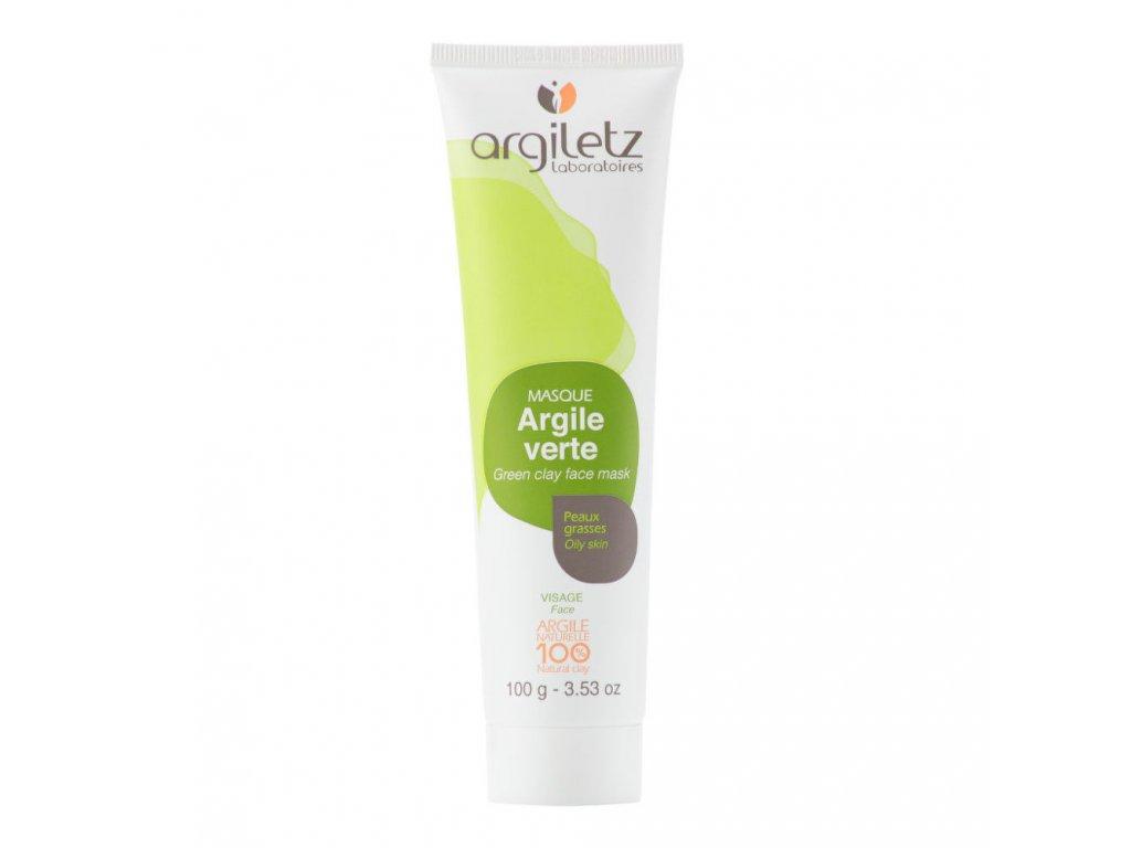 Argiletz Maska pleťová pro mastnou pleť zelený jíl 100 g