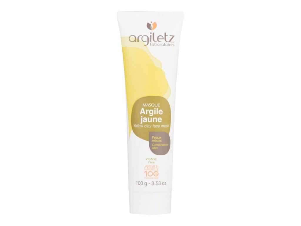 Argiletz Maska pleťová pro smíšenou pleť žlutý jíl 100 ml