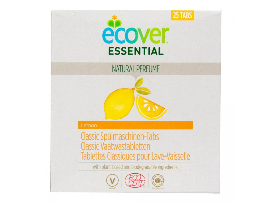 ECOVER tablety do myčky Classic Citron 500 g ECOCERT 25 ks