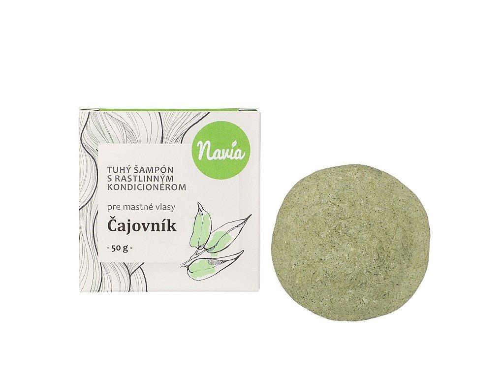 Čajovník tuhý šampoón 50 g