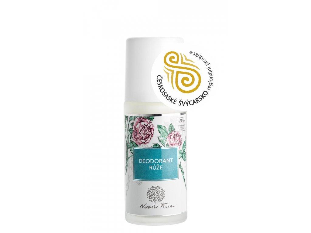 Nobilis Tilia deodorant roll-on Růže 50 ml