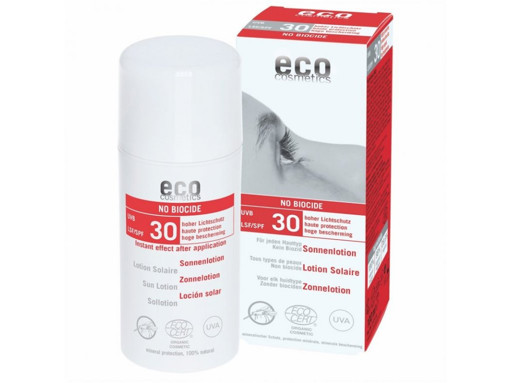 Eco Cosmetics Mléko na opalování SPF 30 s repelentem BIO (100 ml)