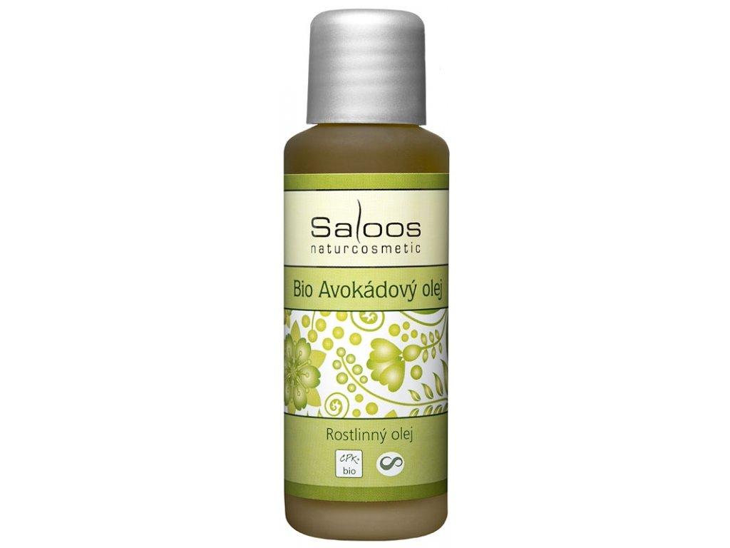 Bio Avokádový olej Saloos 50ml