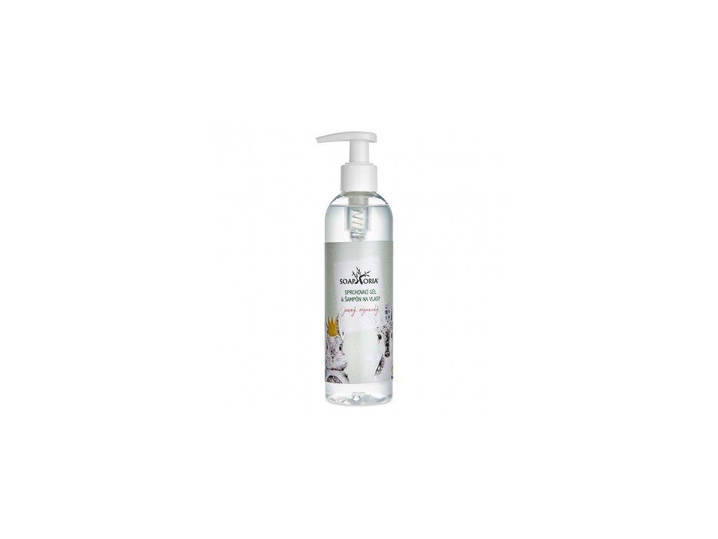 organicky sprchovaci gel sampon na vlasy