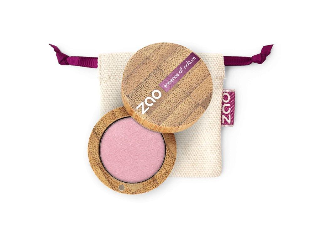 ZAO Třpytivé oční stíny 103 Pearly Old Pink bambusový obal 3 g