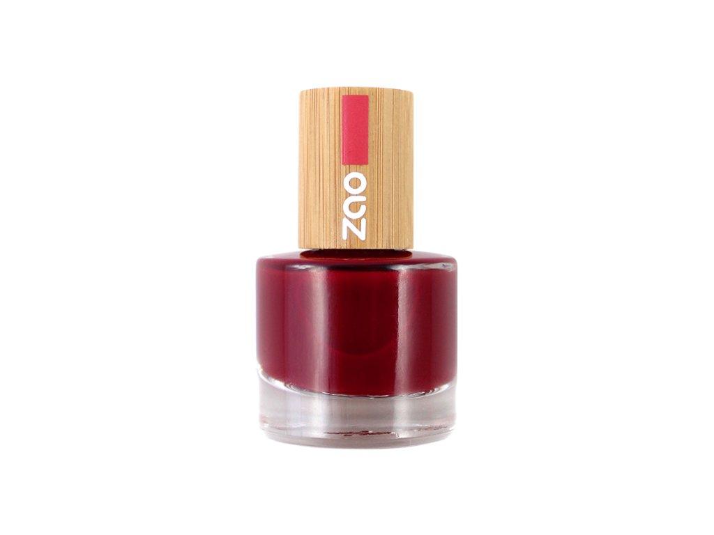ZAO Lak na nehty 668 Passion red 8 ml