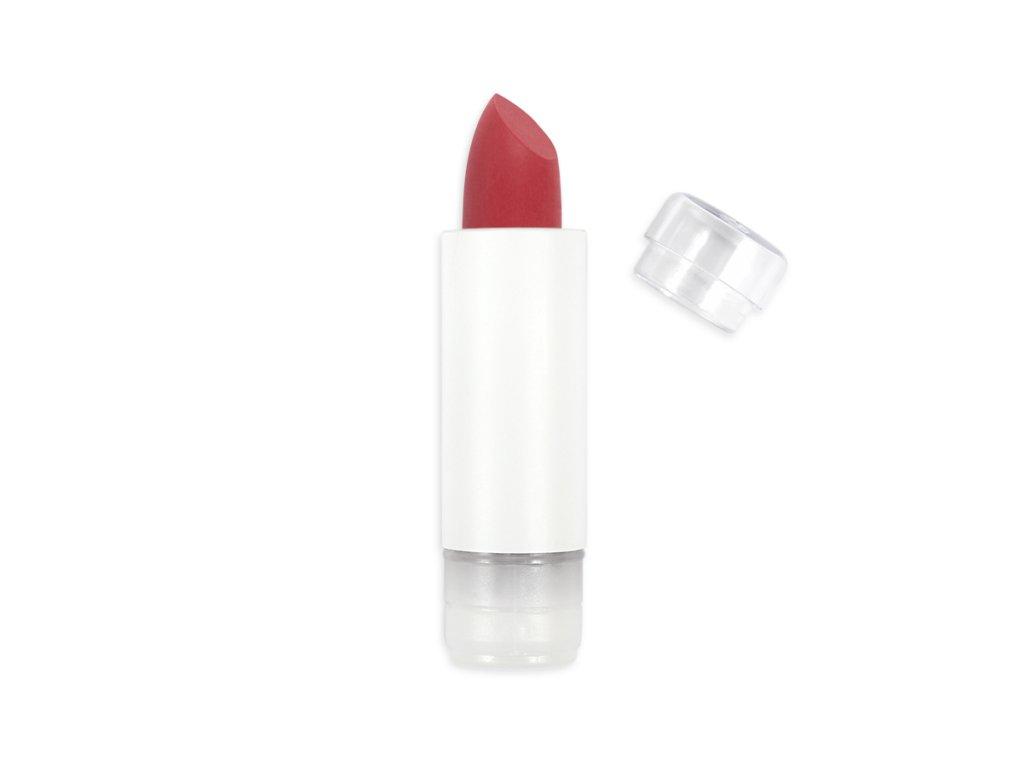 ZAO Matná rtěnka 435 Soft Extra Matt Red Pomegranate náplň 3,5 g