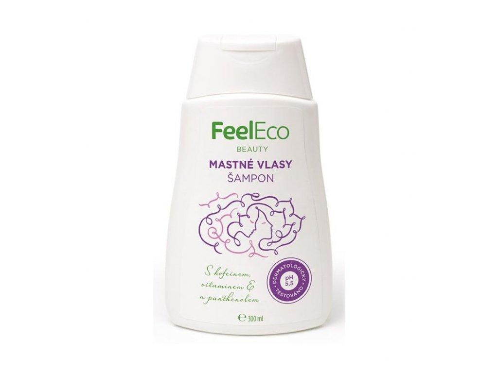 feel eco vlasovy sampon na mastne vlasy 300 ml