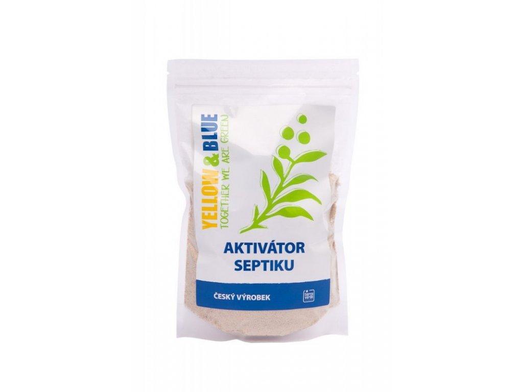 Yellow&Blue Aktivátor septiku (500 g) pro přirozenou biologickou rovnováhu