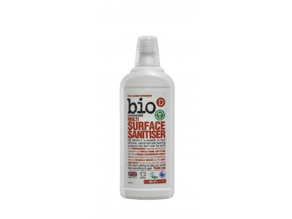 Bio D Multi Surface Sanitiser 750ml (BMS127)
