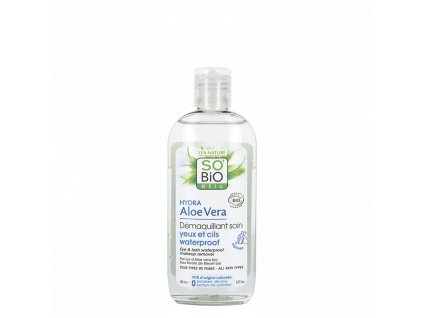 demaquillant yeux waterproof aloe so bio etic