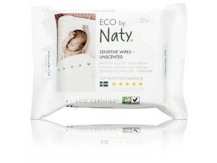 naty wipes unscented travel 20 ks