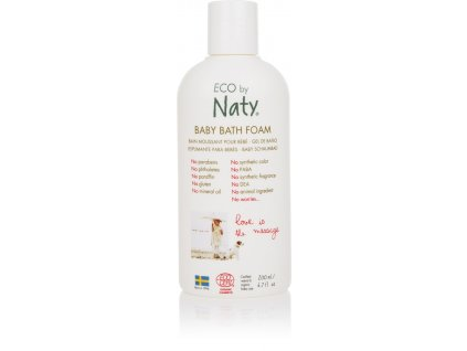 naty bath foam 200ml