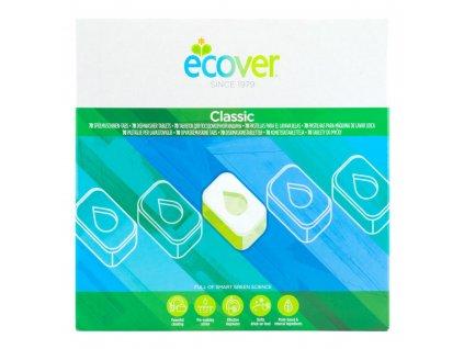 ECOVER  tablety do myčky Classic XL balení 1,4 kg 70 kusů