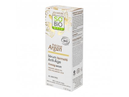 SO'BiO étic Sérum zpevňující Anti-Age Precieux Argan 30 ml BIO