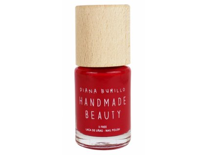 Handmade Beauty Lak na nehty 5-free (10 ml) - Cherry