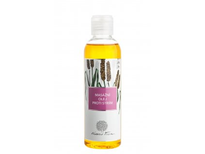 Nobilis Tilia Masážní olej proti striím BIO 200 ml