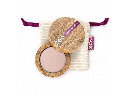 ZAO Třpytivé oční stíny 102 Pearly Pinky Beige  bambusový obal 3 g