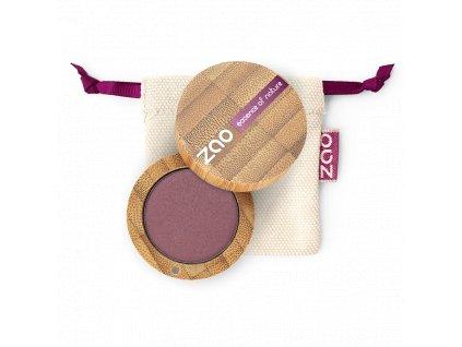 ZAO Třpytivé oční stíny 104 Pearly Garnet bambusový obal 3 g