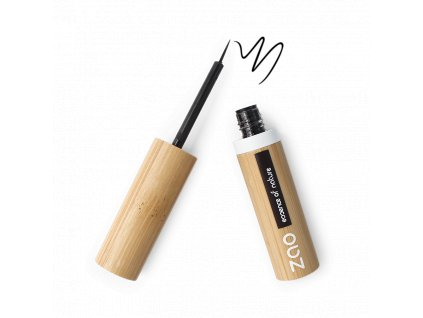 ZAO Tekutá linka na oči 070 Black 4,5 g bambusový obal
