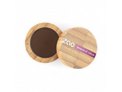 ZAO Matné oční stíny 203 Dark Brown 3 g