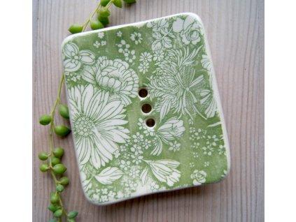 Kate Motl Mýdlenka keramická Lullaby a Botanica 1 ks