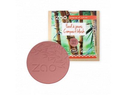 ZAO Tvářenka 322 Brown Pink náplň 9 g