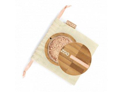 ZAO Hedvábný minerální make-up 510 Golden Beige 15 g bambusový obal