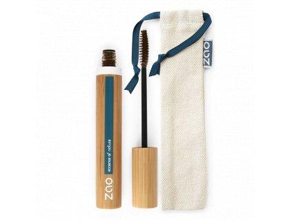 ZAO Řasenka pro větší objem 086 Cocoa bambusový obal 7 ml