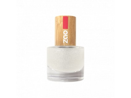 ZAO Lak na nehty 665 Glitter top coat 8 ml