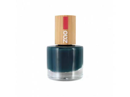 ZAO Lak na nehty 666 Blue duck 8 ml