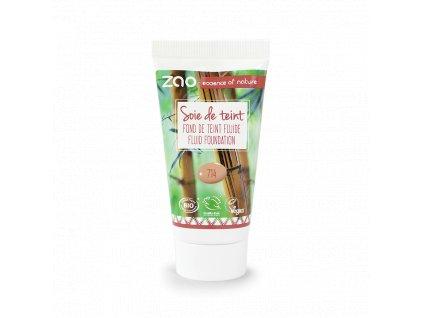 ZAO Hedvábný tekutý make-up 714 Natural Beige náplň 30 ml