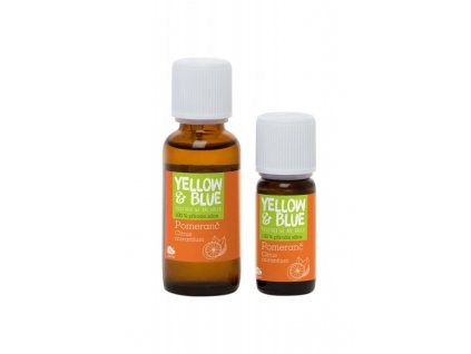 Yellow&Blue Pomerančová silice (30 ml) - přírodní éterický olej