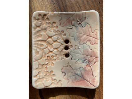 Mýdlenka keramická Vážky 1 ks