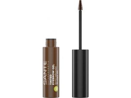 sante naturkosmetik tinted eyebrow gel 02 brownie 1306187 en