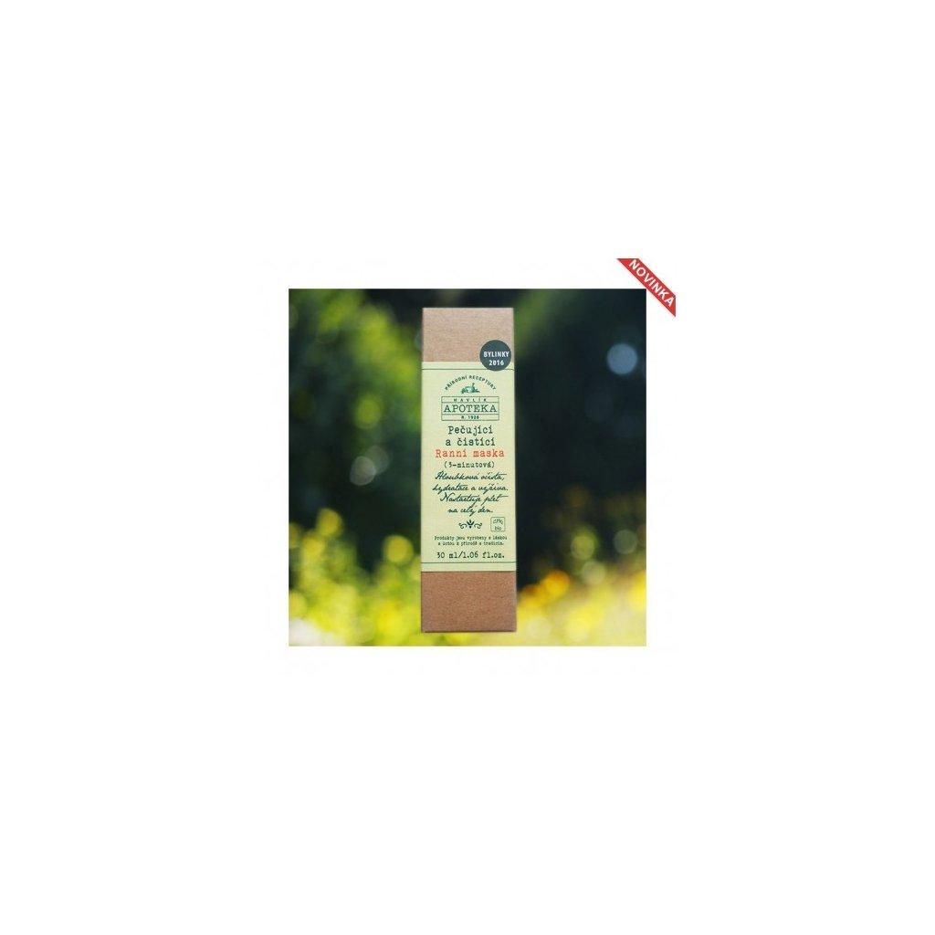 Pečující a čistící ranní maska (3 minutová)od 30ml   HAVLÍKOVA APOTHÉKA