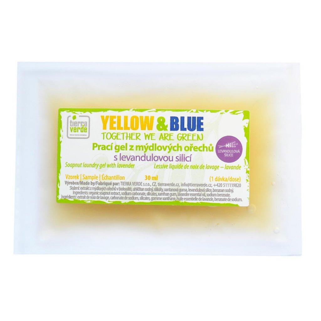 Prací gel z mýdlových ořechů s levandulovou silicí od 1g | TIERRA VERDE