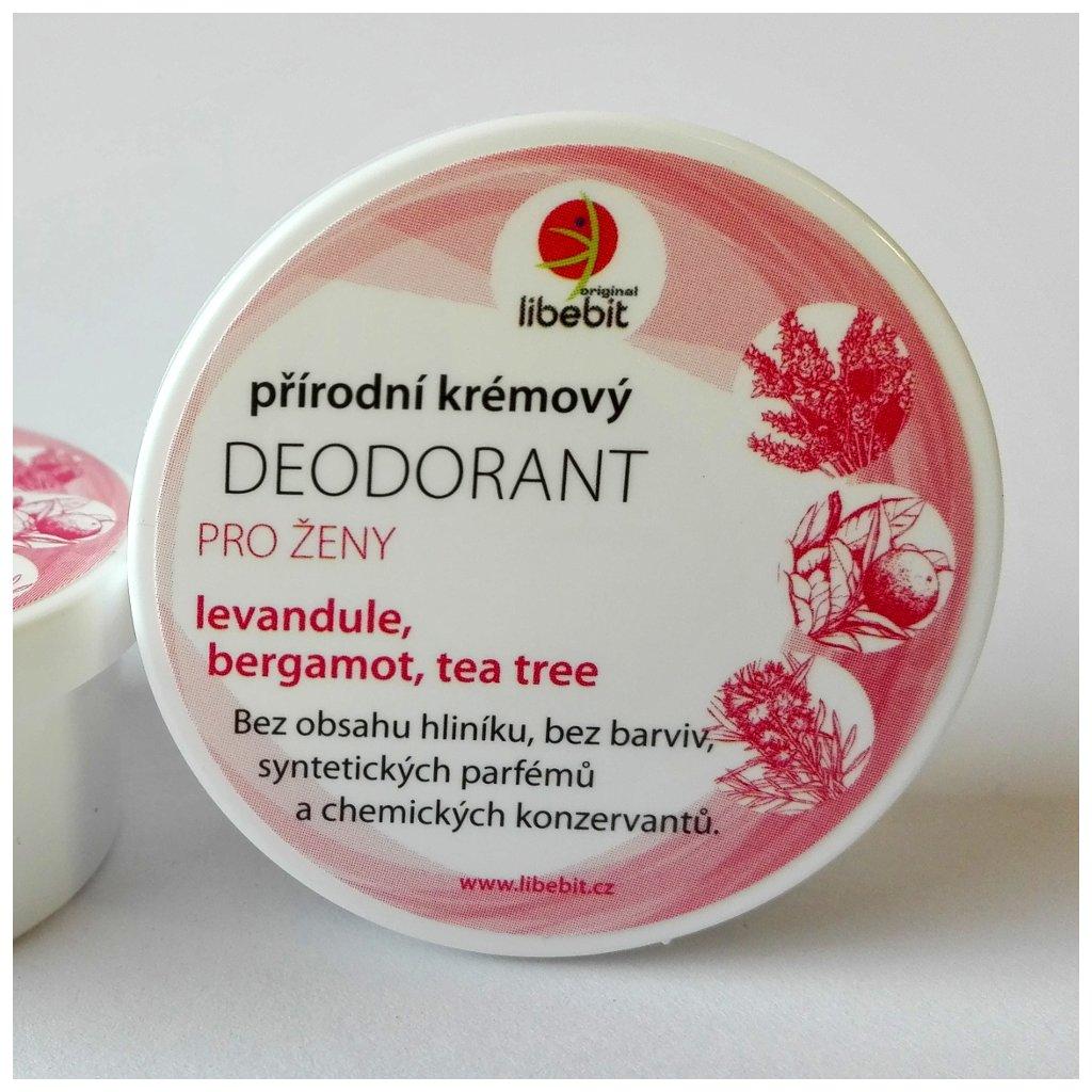 Deodorant pro ženy levandule, bergamot a tea tree 15ml | LIBEBIT