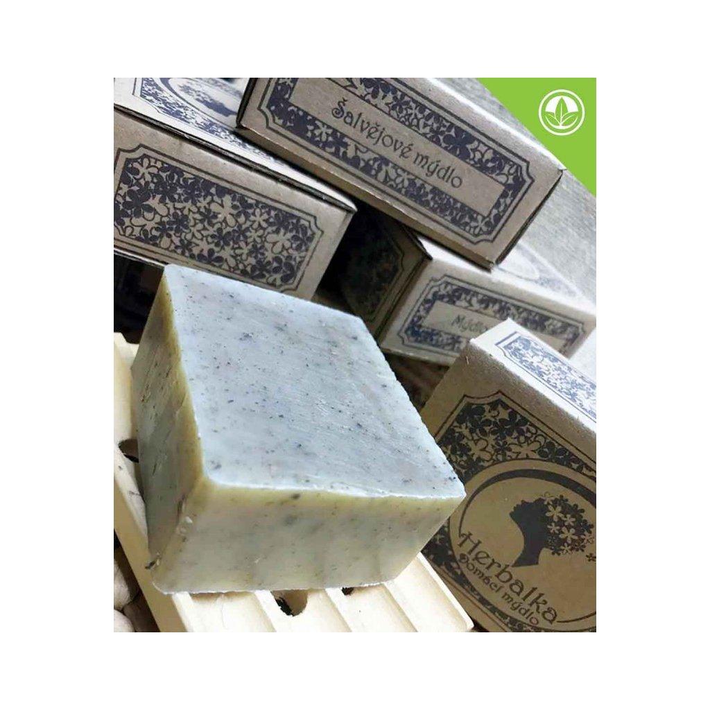 herbalka salvejove mydlo