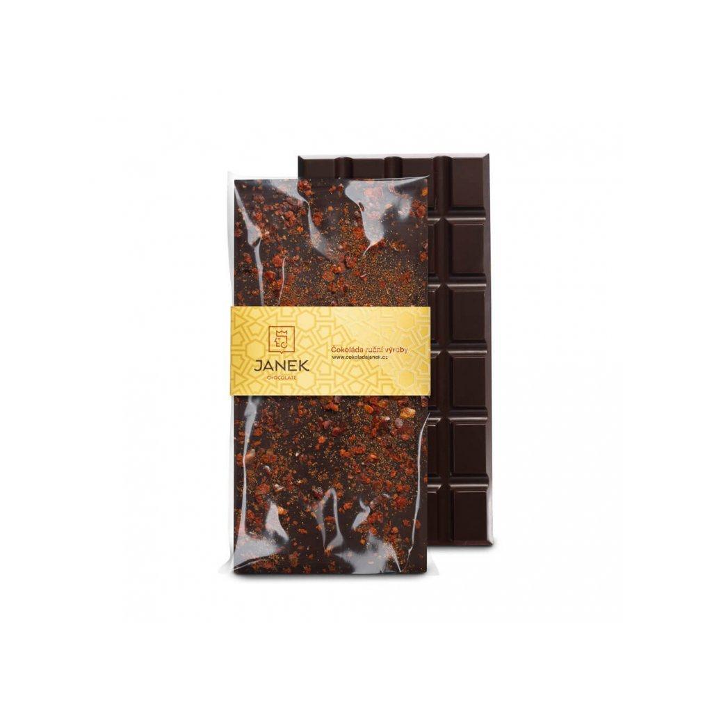128 1 tabulka horke cokolady 64 procent s chilli cokoladovna janek jpg