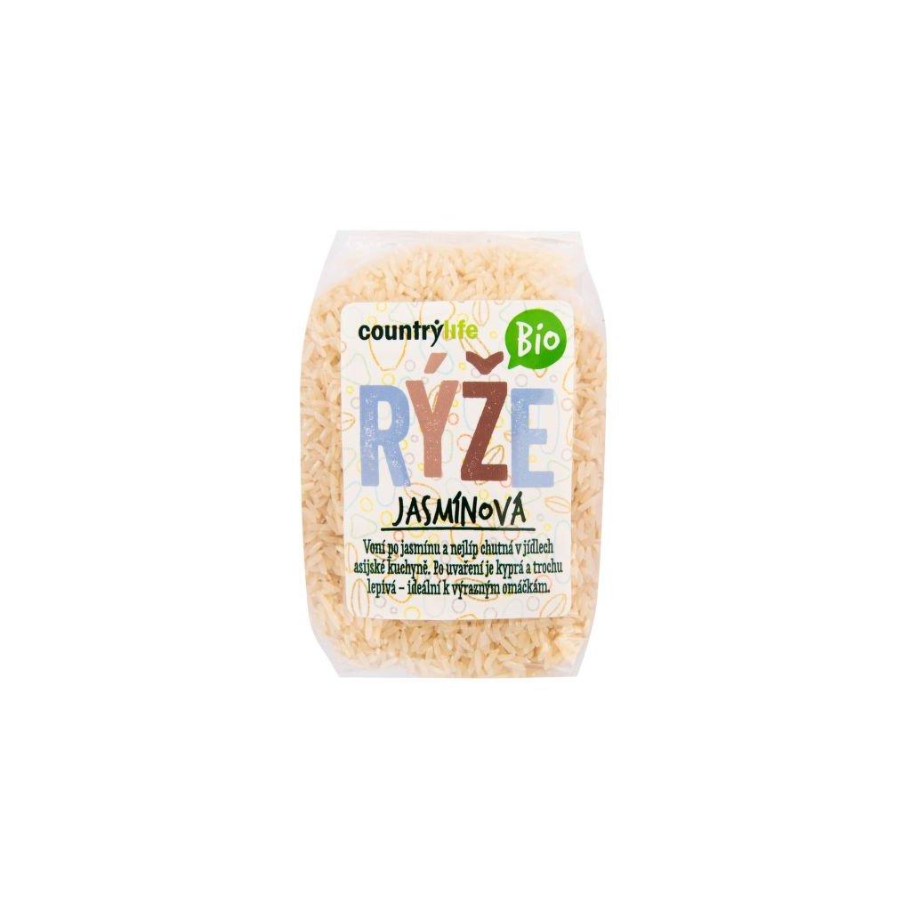 Rýže jasmínová 500g   COUNTRY LIFE