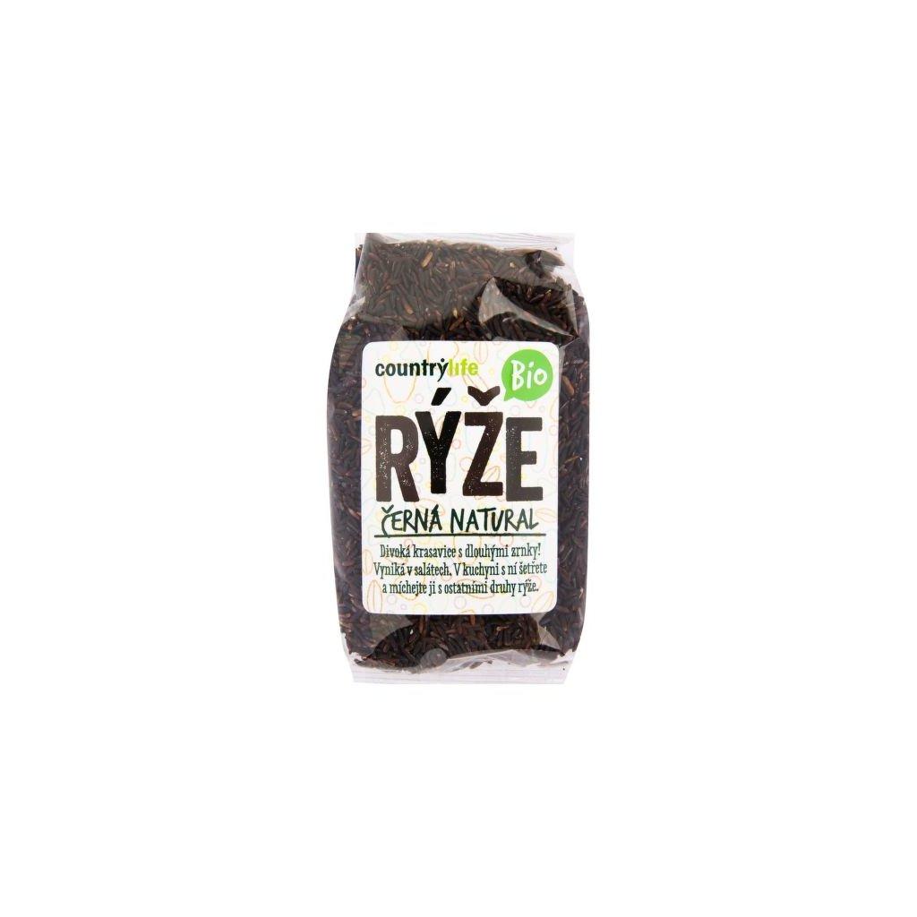 Rýže černá natural 500g | COUNTRY LIFE