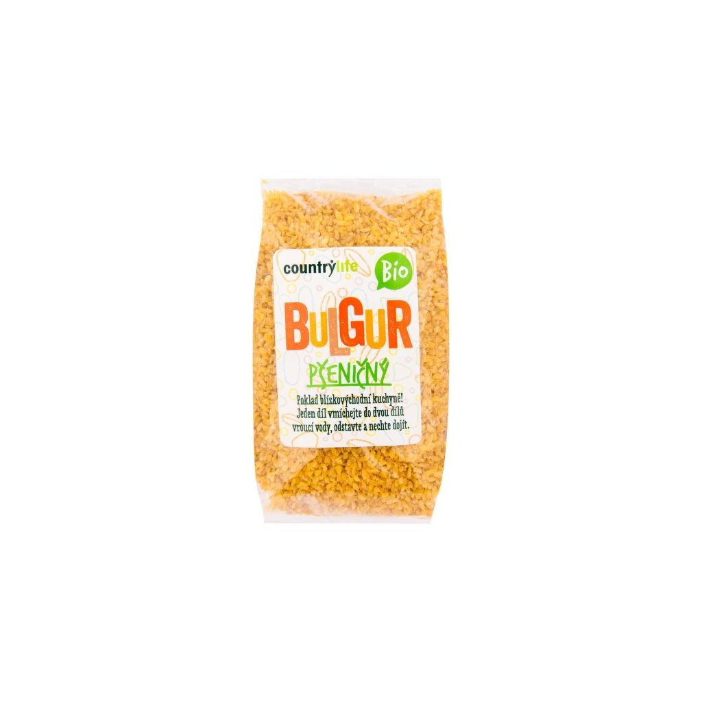 Bulgur pšeničný Bio 500g   COUNTRY LIFE