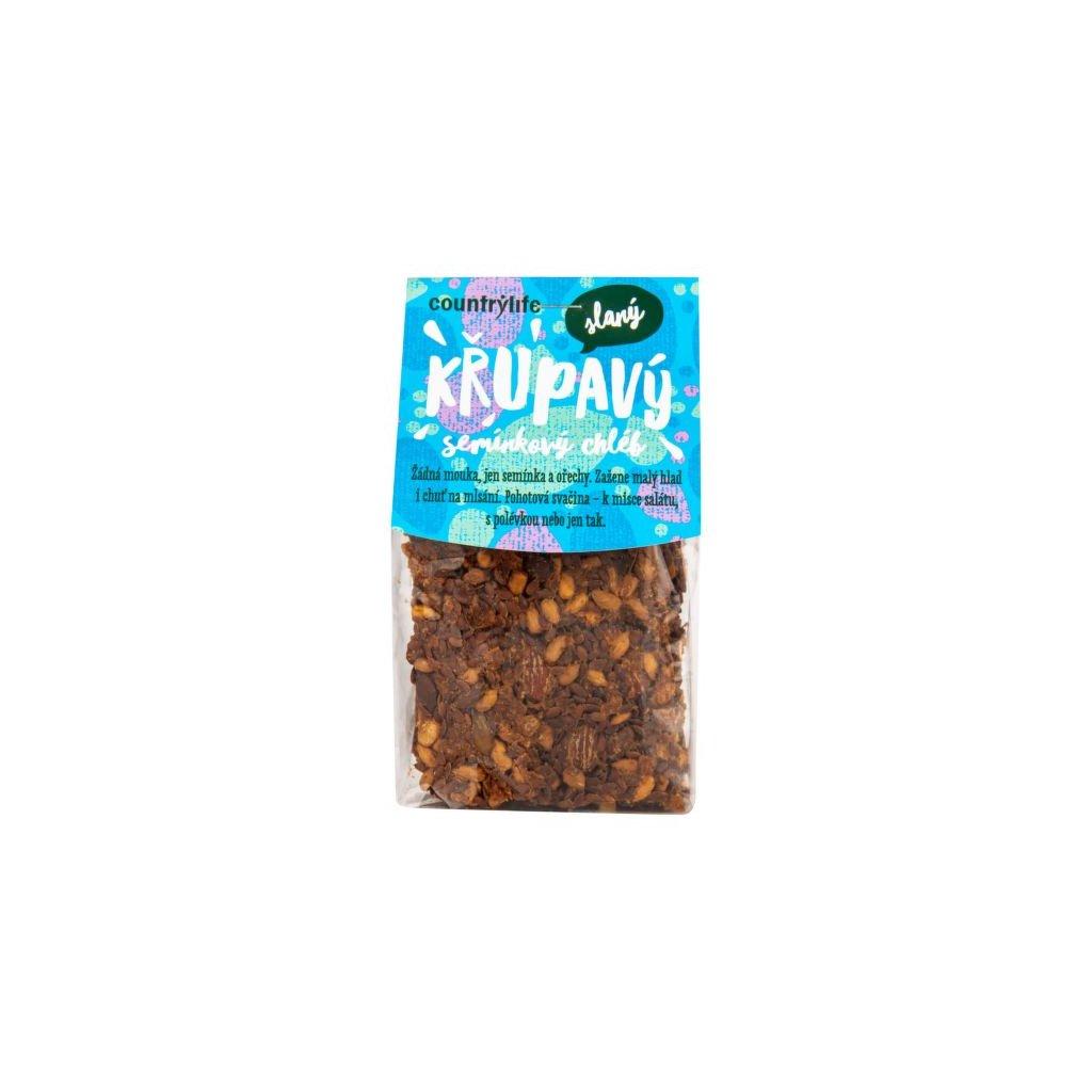 Chléb seminkový křupavý slaný 150g | COUNTRY LIFE