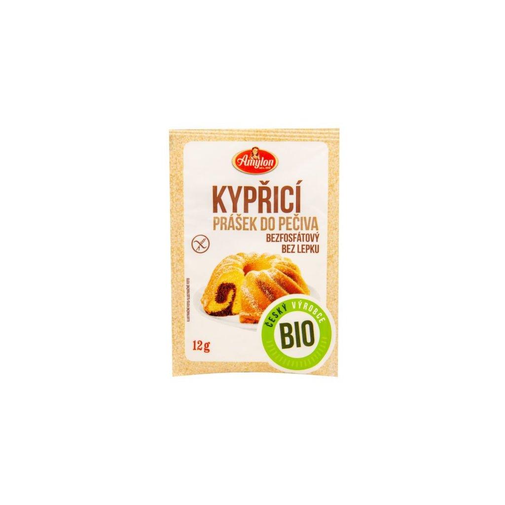 Prášek kypřicí do pečiva bezlepkový 12 g BIO | AMYLON