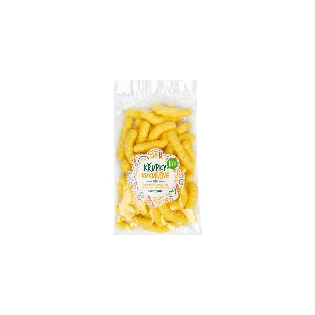 Křupky kukuřičné maxi 50 g BIO   COUNTRY LIFE