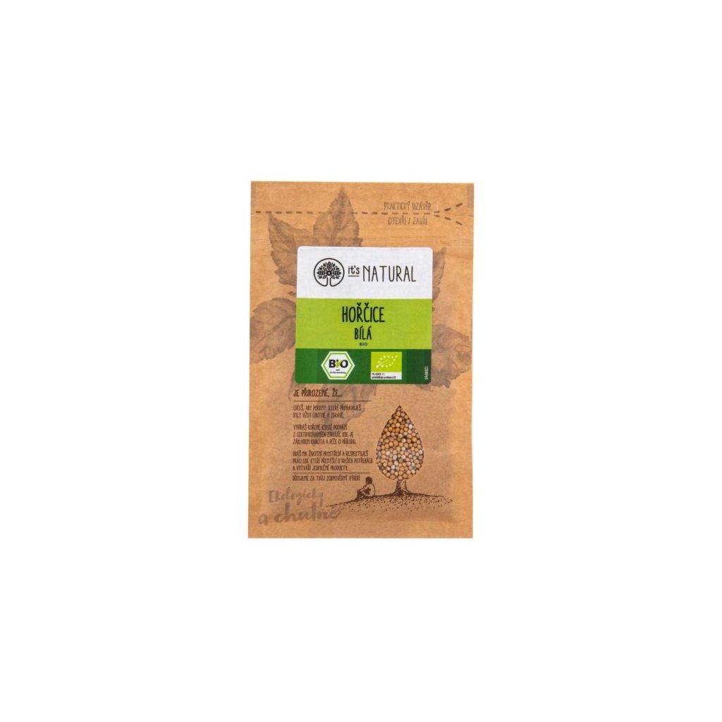 Hořčice bílá 30 g BIO   PĚKNÝ - UNIMEX