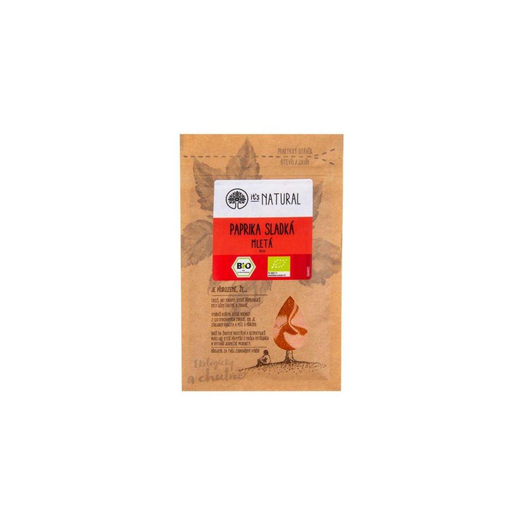 Paprika mletá sladká 15 g BIO|  PĚKNÝ - UNIMEX